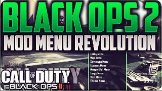 Black Ops 2 Mod Menu - Revolution   1.18 [CEX / DEX]