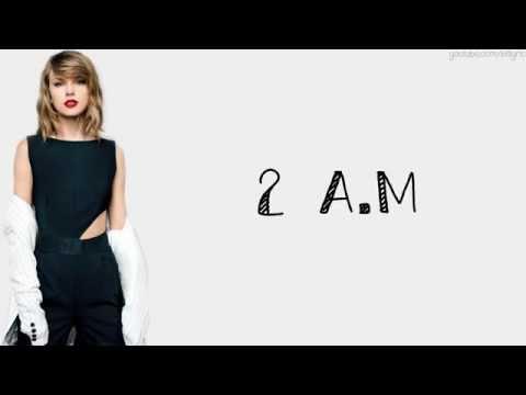 Taylor Swift – I Wish You Would (Lyrics)