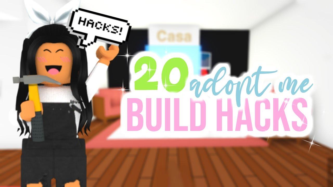20 Building Hacks Tips In Adopt Me Kitchen Living Room Sunsetsafari Youtube