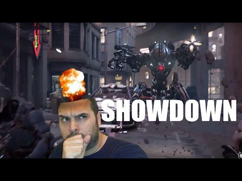 ShowDown en español - Acción en realidad virtual- Skynet mando un Terminator!!