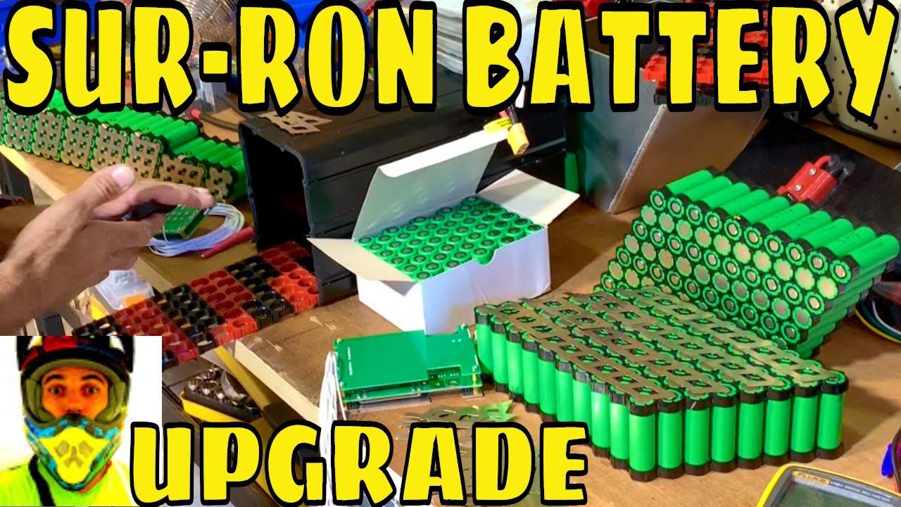 Sur Ron & LMX Battery Upgrade - Follow Up Video