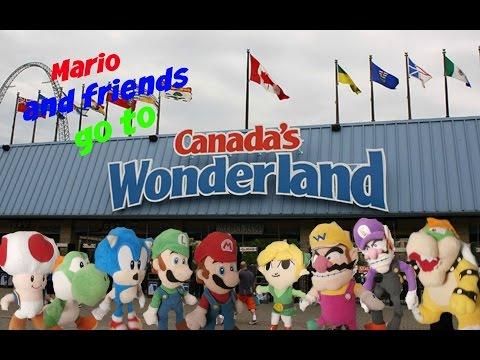 Mario and friends go to wonder land (SMR MOVIE)