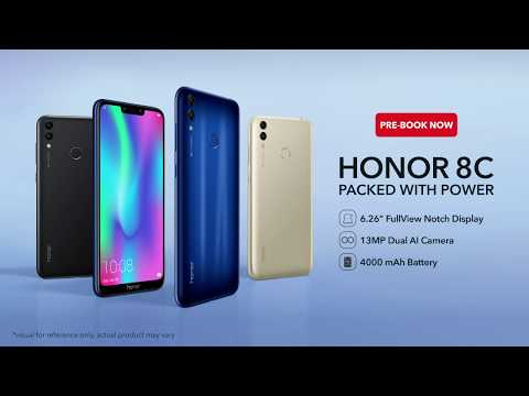 Honor 8C   Pre-Book Now for Rs. 26,499