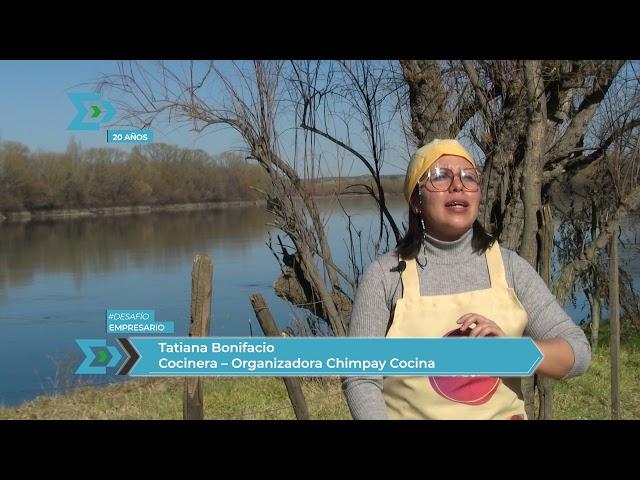 Chimpay cocinó a orillas del río Negro
