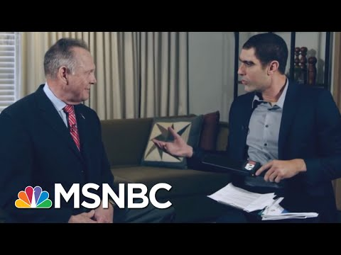 Roy Moore Is Sacha Baron Cohen's Latest Target | All In | MSNBC