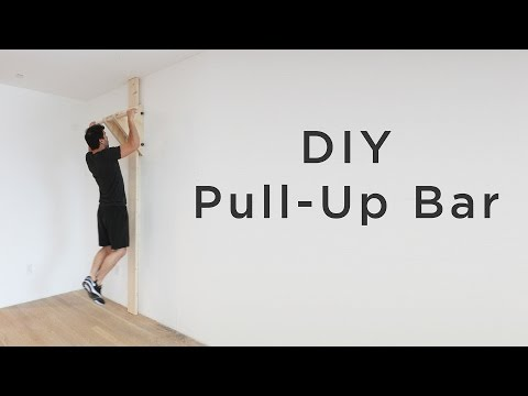 DIY Pull Up / Chin Up Bar | How To Make A Chin-up Bar Without A Doorway
