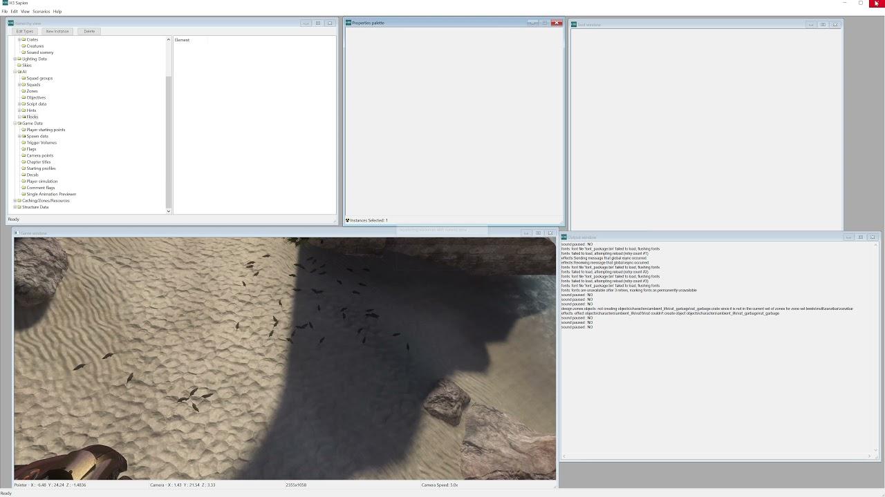 Download MCC Halo 3 Mod Tools Tutorial Episode 9 - Adding Flocks