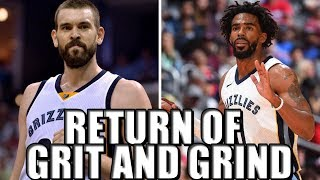 The Revival of Marc Gasol and the Memphis Grizzlies!
