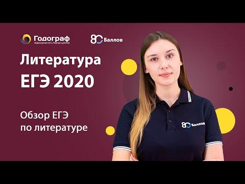 ЕГЭ по Литературе 2020. Демо ЕГЭ по Литературе 2020