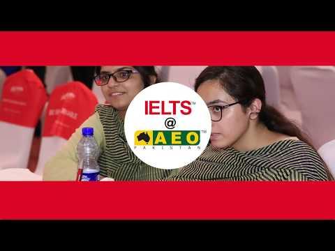 IELTS at AEO Pakistan