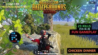 Download lagu PUBG MOBILE23 KILLSFUN GAME PLAYAMAZING CHICKEN DINNER MP3