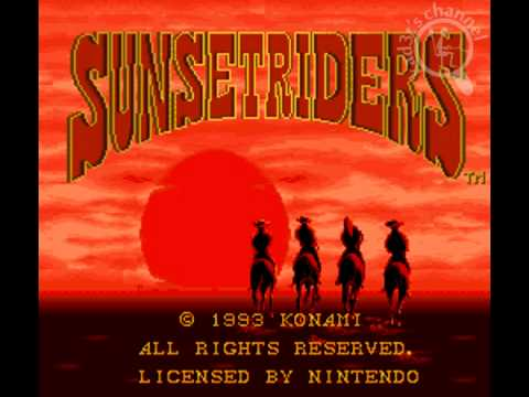 [Intro][SNES] Sunset Riders