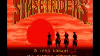 [Intro][SNES] Sunset Riders