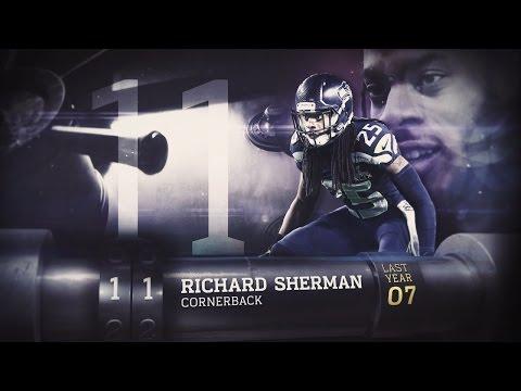 #11 Richard Sherman (CB, Seahawks)   Top 100 Players of 2015