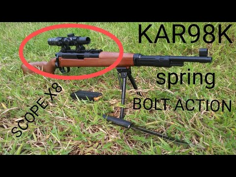 Unboxing Kar98k Water Gel Gun Spring Bolt Action Shell Ejection Pubg Series Agegladi Youtube