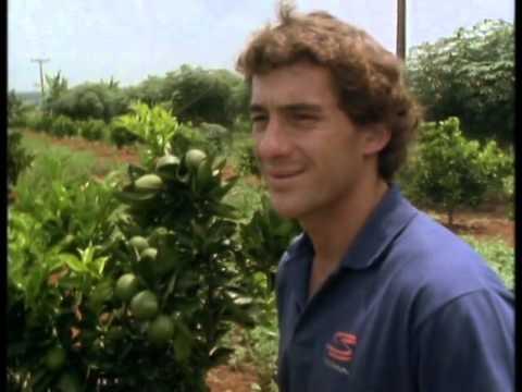 Ayrton Senna  - Organic farm and love