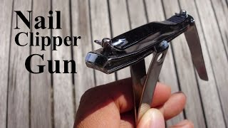 Can You Make A Gun Using ONLY Nail Clippers??!