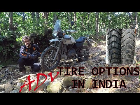 Tire options for Royal Enfield Himalayan in India