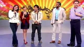 Marjorie Estiano e elenco de 'Caminho das Indias' no Domingão do Faustão [3/5]