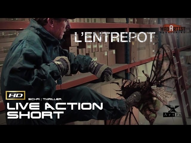 L'ENTREPORT | A Tox Liquid Spill attack workers in a warehouse (ArtFx)