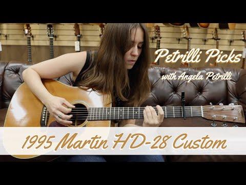 petrilli-picks:-1995-martin-hd-28-custom- -norman's-rare-guitars