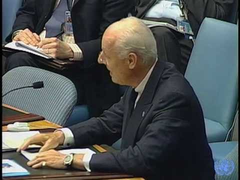 """We have grounds for optimism"" (Staffan de Mistura, Special Representative for Iraq)"