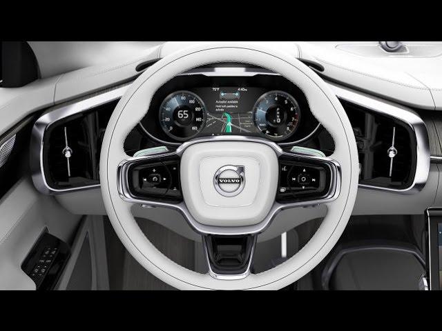 Volvo Cars Concept 26 (LA 2015) - Volvos autonome Zukunft