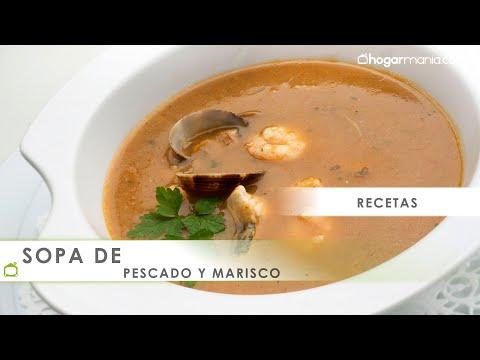 Receta De Sopa De Pescado Y Marisco Por Karlos Arguiñano Youtube