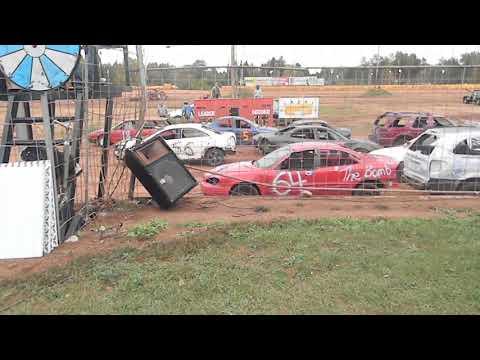 chain race heat 2 tomahawk speedway eve 2018