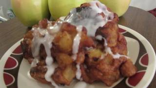 Vegan Apple Fritters Recipe - Vegan Mofo Day 2