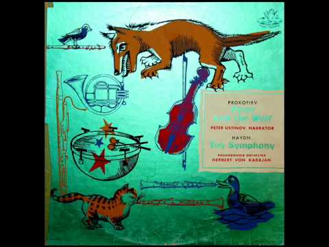 Prokofiev / Peter Ustinov / Herbert von Karajan, 1960: Peter And The Wolf / Петя и Волк