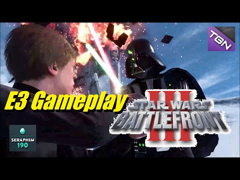 Star Wars Battlefront 3 NEW E3 (Gameplay Footage) PS4,PC,X-BOX ONE - Episode: 230