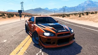THE FASTEST R34 GTR - DLC Car #2 - Need for Speed: Payback