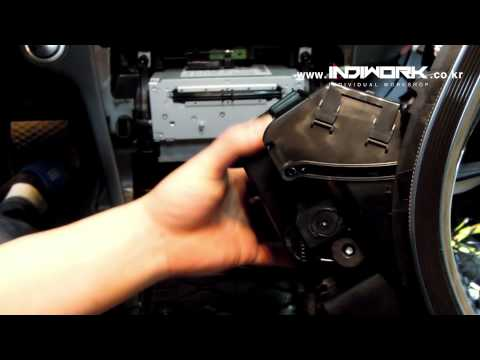 2014 Mercedes-Benz C-Class(W205) How to remove audio  by 인디웍 indiwork