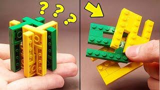 сМОЖЕШЬ ОТКРЫТЬ? Как сделать ГОЛОВОЛОМКУ из Лего