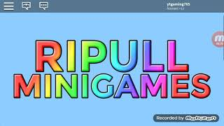 PLAYING RIPULL MINIGAMES!💯🔥👌 | Roblox