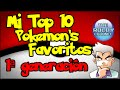 Top 10 Pokémon Favoritos | Primera generación | TheRoldyChannel