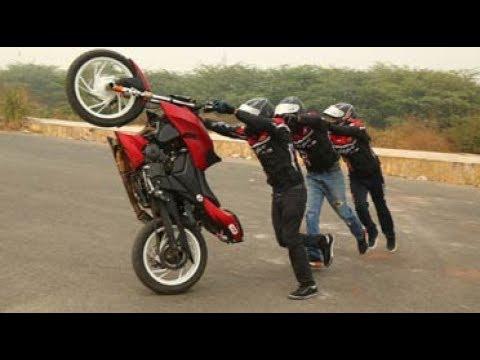 Moto Tycoonz motorcycle stunt Trailer