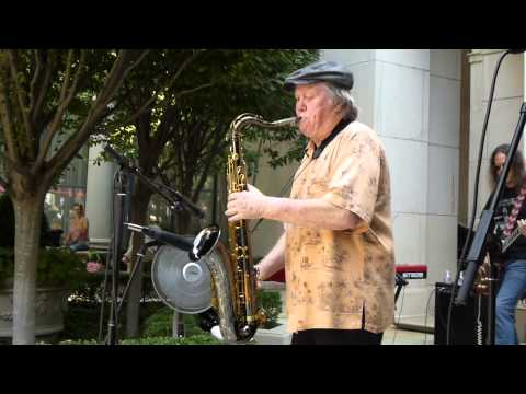 bobby keys and his band perform john lennon's whatever gets you through the night