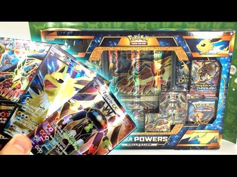 BEAUTIFUL FULL ARTS! - Opening a MEGA POWERS COLLECTION POKEMON BOX!