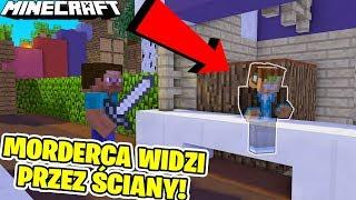MORDERCA Z CZITAMI WIDZI MNIE ZA ŚCIANAMI! | MURDER MYSTERY DOUBLE UP | Minecraft Vertez