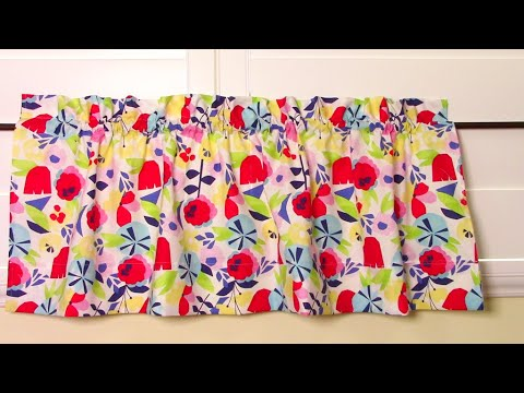 Learn How To Make Curtains - The Easy Way
