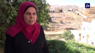 مشكلة الصرف الصحي في منطقة وادي موسى