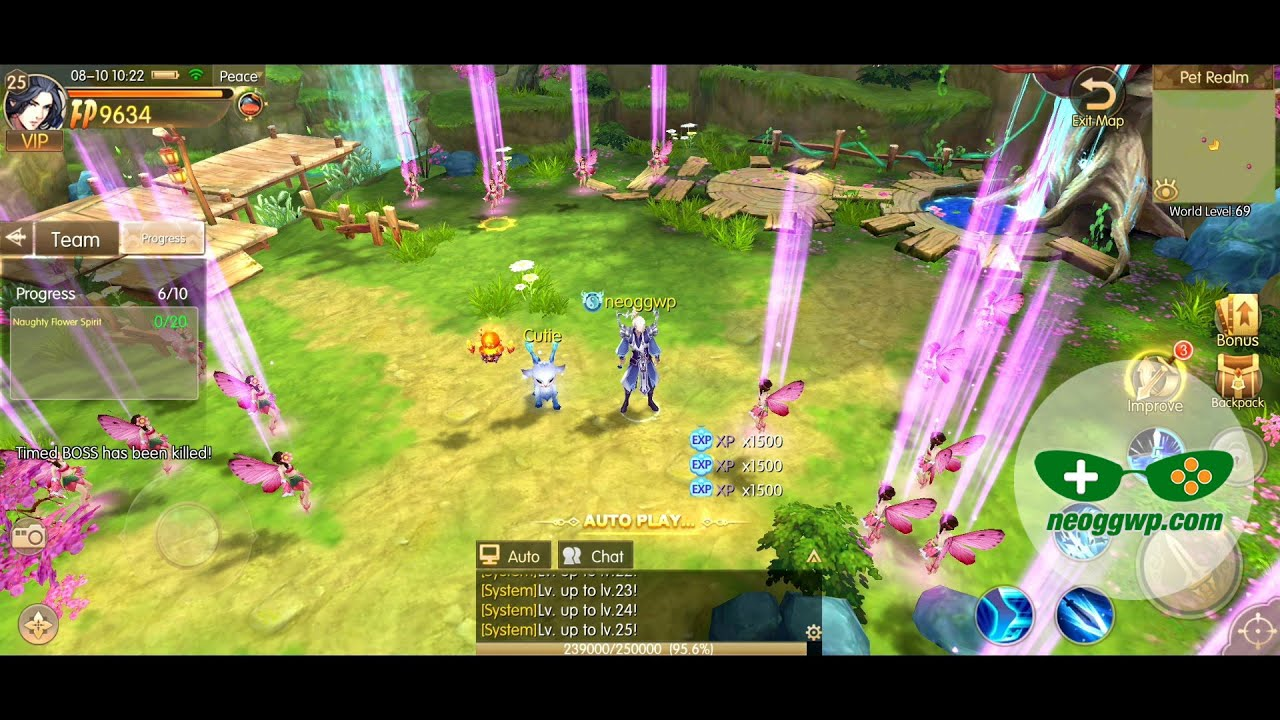 Story of Hero: Lost Artifact (Official Launch) (Android APK) - MMORPG Gameplay, Swordsman Lv.1-30