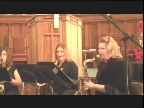 Beer Barrel Polka for Saxophone Quartet