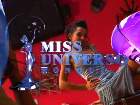 Sesion de fotos del Miss Honduras Universo 2011