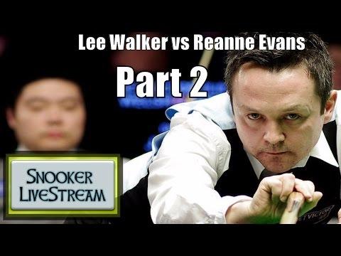 Lee Walker v Reanne Evans R2 World Championship Part 2 2017 - Snooker LiveStream