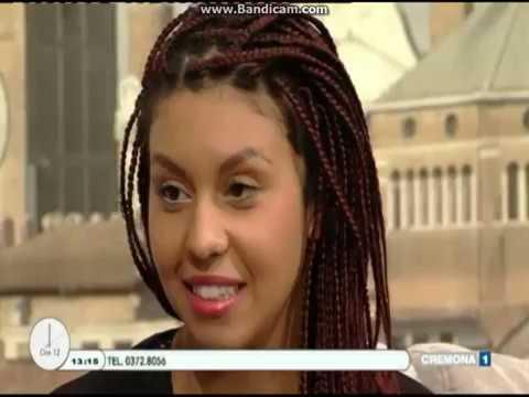 """Brenda Lawrence - intervista a """"Ore 12"""" (Cremona1 tv)"""