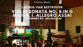 Ludwig van Beethoven - Violin Sonata No. 8 in G Major, I. Allegro assai