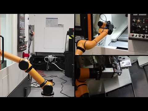 Customized Aubo Collaborative Robot Machine Tending Solution